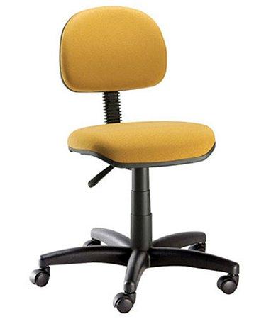 Cadeira Secretária com Base Giratória  Linha Confort Plus Amarelo