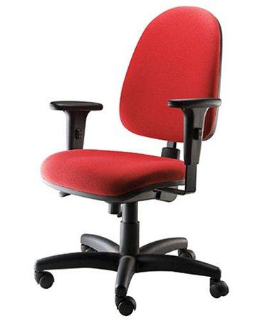 Cadeira Diretor com Back System Linha Confort Plus Vermelho