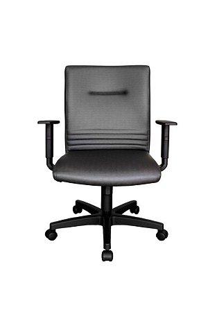 Cadeira Diretor Giratória com Braços Linha Corinto Preto