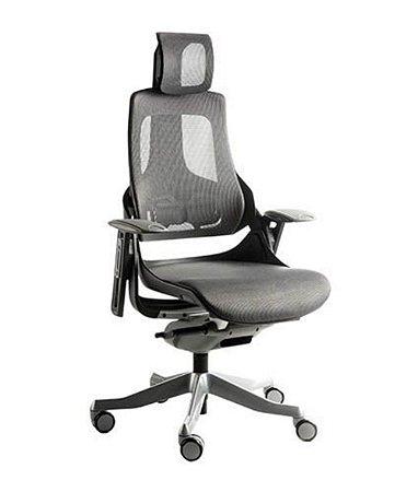 Cadeira Presidente com apoio de cabeça  Linha Eagle Preto