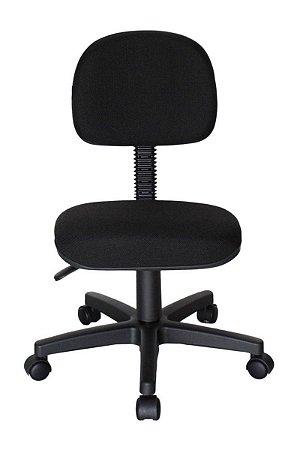 Cadeira Secretária Base Giratória Linha Economy Preto
