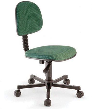 Cadeira Secretária Base Giratória Linha Economy Verde
