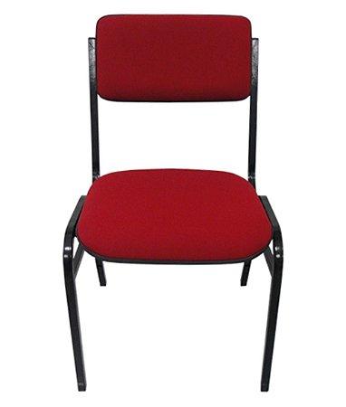 Cadeira Empilhável para Auditórios Linha Hotel Smart  Cor Vermelho