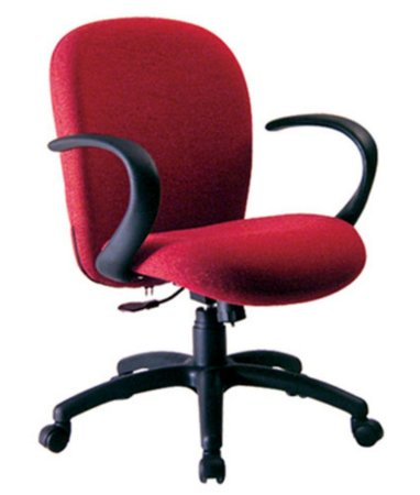 Cadeira Diretor com Braços  Linha Lombar Vermelho