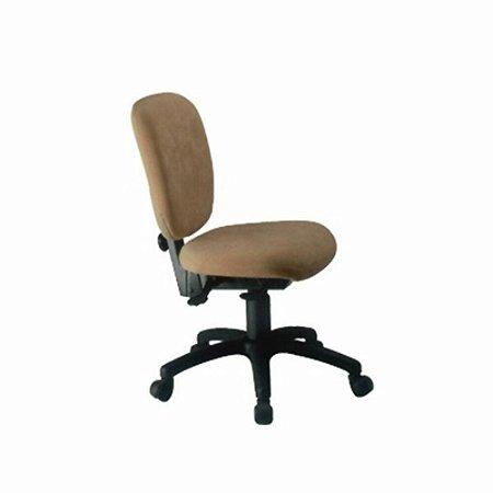 Cadeira Diretor sem  Braços  Linha Lombar Marrom