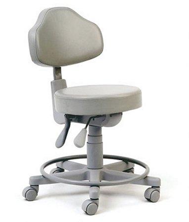 Cadeira Mocho com Back System Linha Mocho Cinza