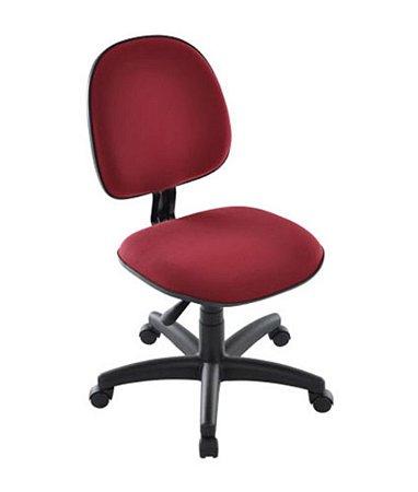 Cadeira Executiva Base Giratória com Lamina Linha Office Vermelho