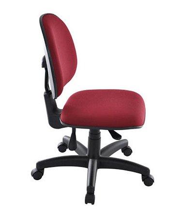Cadeira Executiva Base Giratória  Linha Office Vermelho