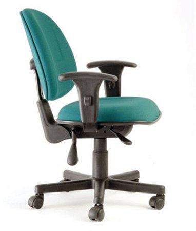 Cadeira Executiva com Back System Linha Office Plus Verde