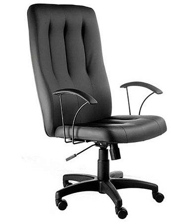 Cadeira Presidente Base Giratória Linha Paris Preto