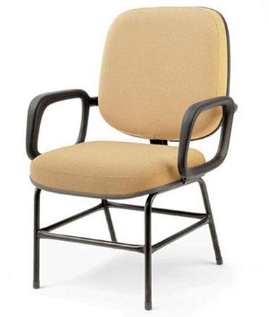 Cadeira Diretor suporta até 150 kg  Linha Plus Size Amarelo