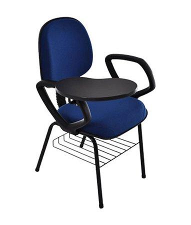 Cadeira Executiva Universitária Linha Robust Azul