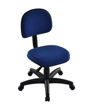 Cadeira Secretária com Base Giratória Linha Robust Azul