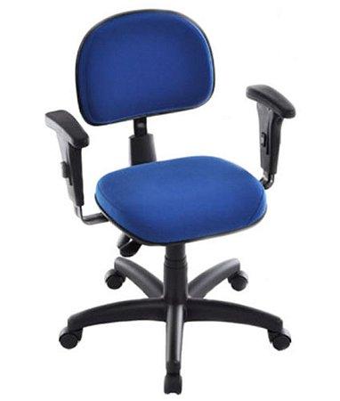 Cadeira Secretária com Back System Linha Robust Azul