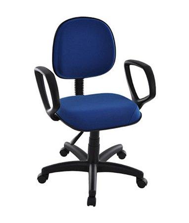Cadeira Executiva com braços Linha Robust Azul