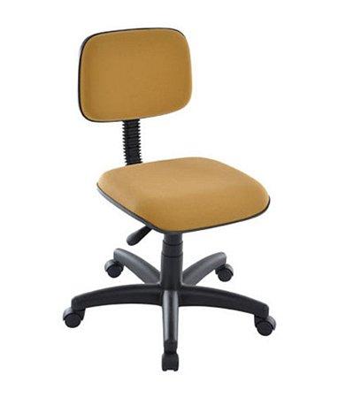 Cadeira Secretária Base Giratória Linha Square Cor Amarelo