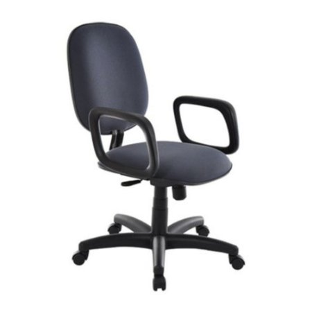 Cadeira Diretor com Braços Linha Uno Preto