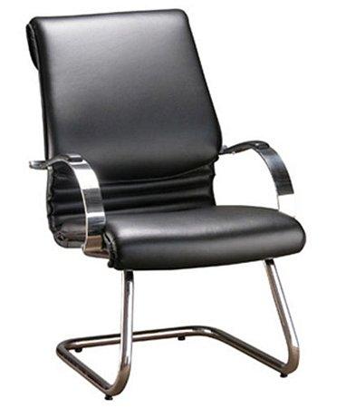 Cadeira Diretor Luxuosa com Base Fixa  Linha Chief Preto