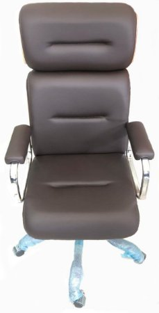 Cadeira Eames Presidente Linha Capa em Madeira Cor Marrom