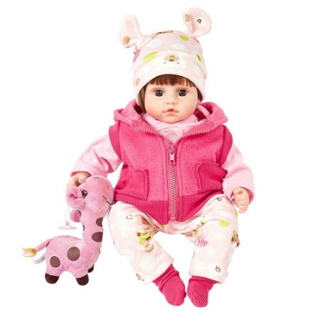 Boneca Bebê Reborn Laura Baby Dream Alexa com mecanismo