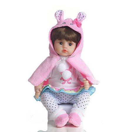 Boneca Bebê Reborn Laura Baby Dream Celina