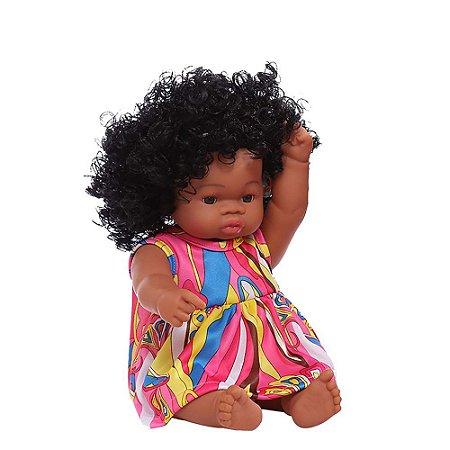 Boneca Bebê Reborn Laura Baby Sweet Jasmine 100% Vinil