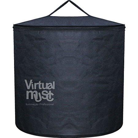 Bag Em Nylon Para Globo Espelhado 50cm Com Alca