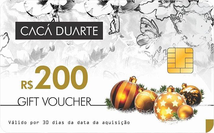 GIFT VOUCHER R$ 200,00