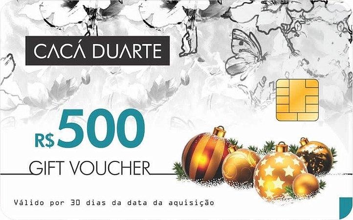 GIFT VOUCHER R$ 500,00