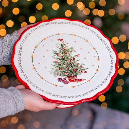 Boleira Árvore Encantada em Cerâmica
