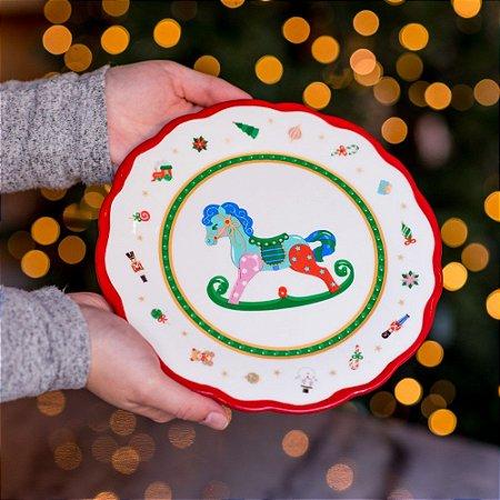Boleira Horse em Cerâmica