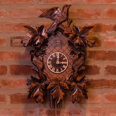 Relógio Cuco Mecânico Diário Traços