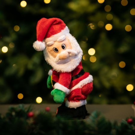 Papai Noel Dançarino Eletrônico Christmas
