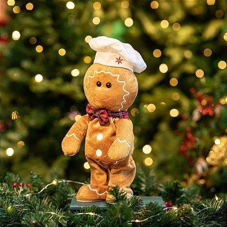 Ginger Dançarino Eletrônico Christmas