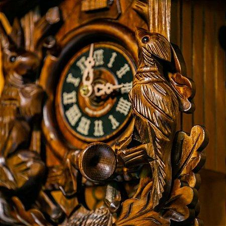 Relógio Cuco Mecânico Diário