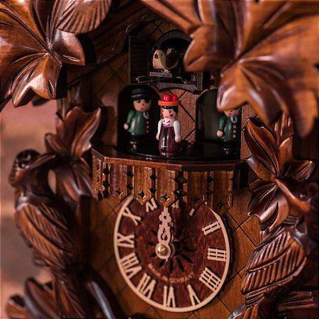 Relógio Cuco Tradicional Grupo de Dança Eletrônico