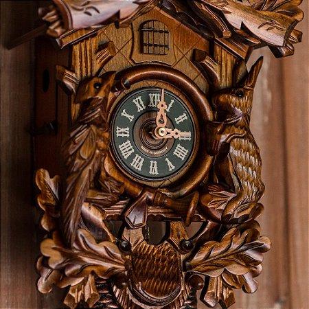 Relógio Cuco Mecânico Semanal Tradicional