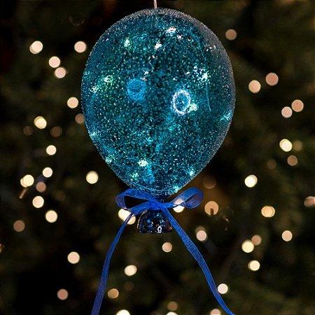Balão Açucarado Azul Cristal