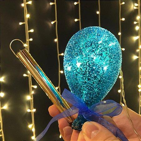 Balão Açucarado Azul Mini Cristal