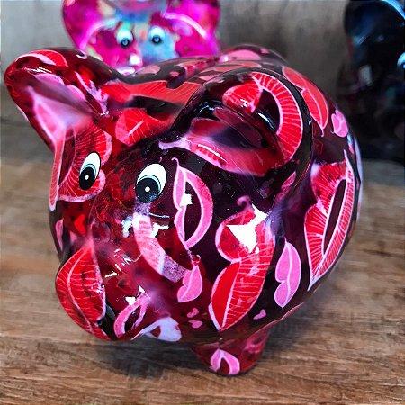 Cofrinho PIG Kisses Cerâmica