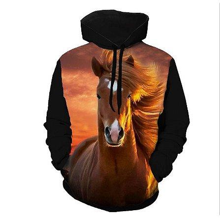 Blusa Moletom - Cavalo Verão - Unissex