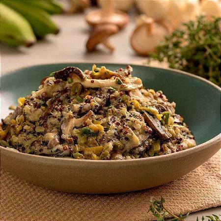Risoto de Cogumelos Frescos com Quinoa - 320g