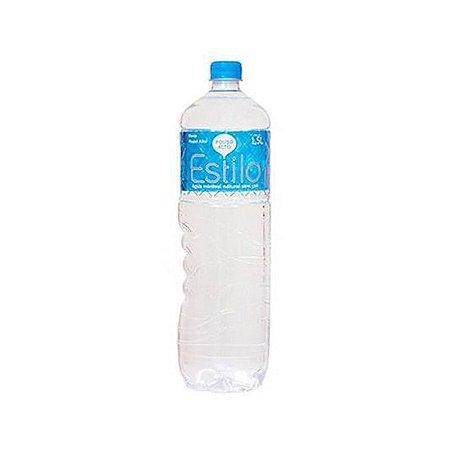 Água Mineral sem Gás Estilo 1,5 Litros