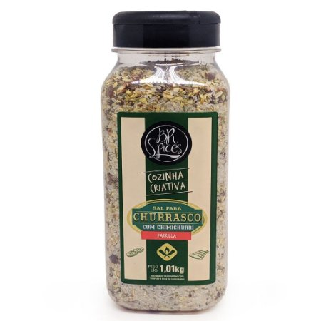 Sal P/Churrasco BR Spices C/Chimichurri Pote 1,01Kg