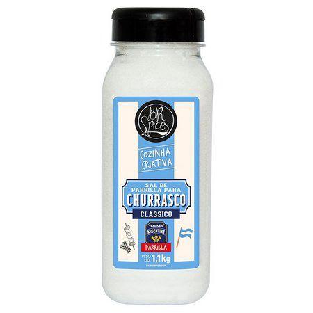 Sal P/Churrasco BR Spices Parrilla Pote 1,1Kg