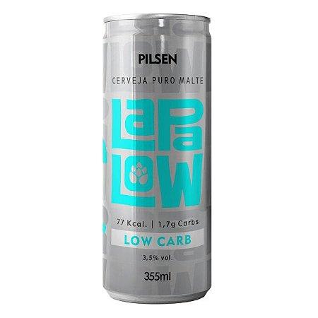 Cerveja Lapa Low Carb Puro Malte Pilsen 355ml
