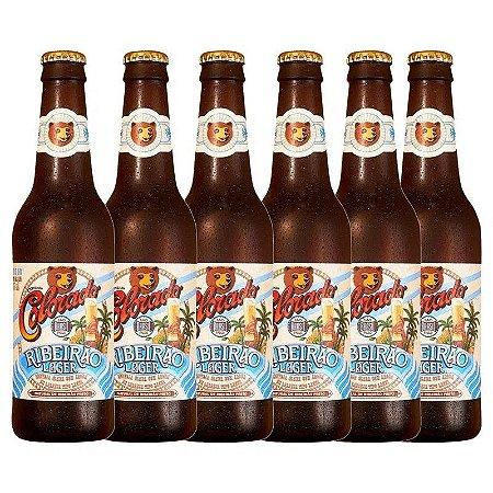 Cerveja Nacional Colorado Lager 355ml Caixa (6 unidades)
