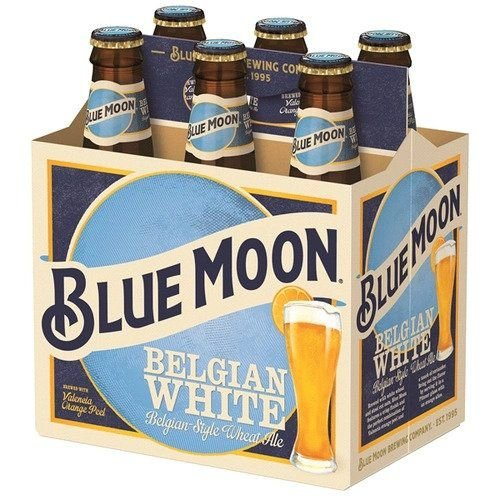 Cerveja Usa Blue Moon Belgian White 355ml Caixa (6 unidades)