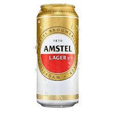 Cerveja Holandesa Amstel Lata 473ml
