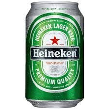Cerveja Holandesa Heineken Lata 350ml
